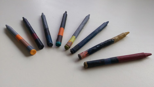 Our second version of the art crayons